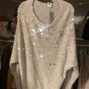 Lafayette 148 Sequin Sweater